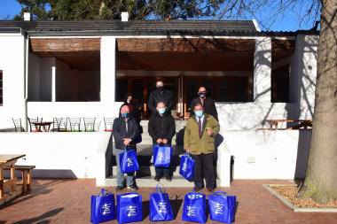 Minister Maynier hands over Covid-19 Business Safety Kits to Overberg municipalities