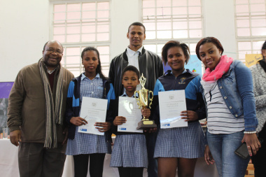 Grade 7 participants from Isiphiwo Primary School came first in their category