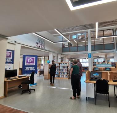 Groenheuwel Library.
