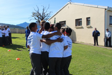 Groot Brak's youth ensured they had a great time on the day