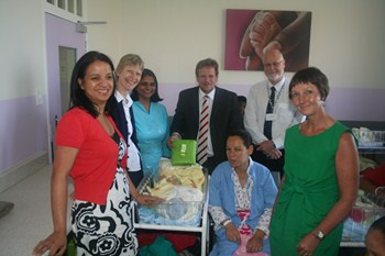Madeover maternity lounge at Groote Schuur Hospital
