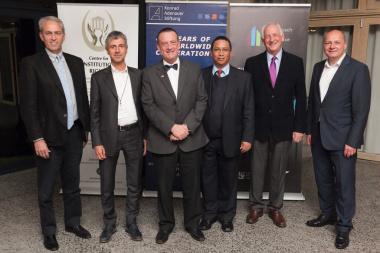 Minister of Finance Dr Ivan Meyer at the Stellenbosch University School of Public Leadership on Wednesday 19 august 2015.