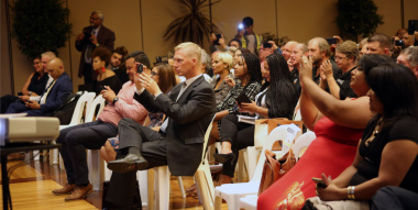 Guests at the Inaugural Neighbourhood Watch Awards, held at the Cape Town Civic Centre on 26 March 2018, included Alderman Jean-Pierre Smith.