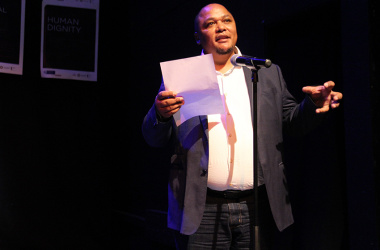 Guy Redman, chief director at DCAS, delivered the opening adress before the performances.
