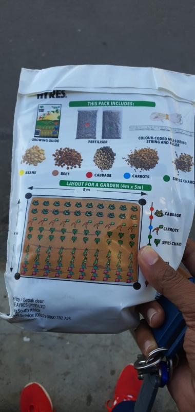 Home garden starter pack