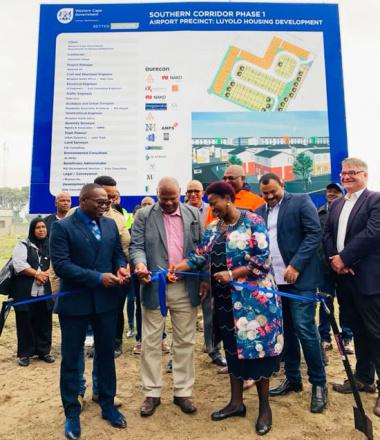 Minister Madikizela launches Airport Precinct Housing Development in Gugulethu