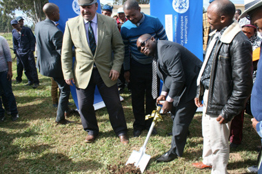 Western Cape Human Settlements Madikizela launched the construction of the Buffeljagsriver IRDP Project in Swellendam