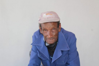 Forest Village Beneficiary Mr Frank Lawrence (77)