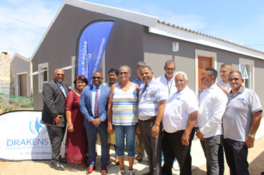 Minister Madikizela Hands Over Homes In Saron, Drakenstein