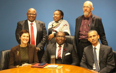 Minister Madikizela with Rental Tribunal Members