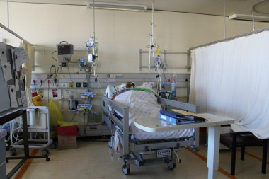The intensive care unit at Groote Schuur Hospital.