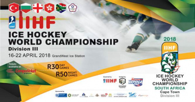 2018 IIHF Ice Hockey World Championship Division III Poster