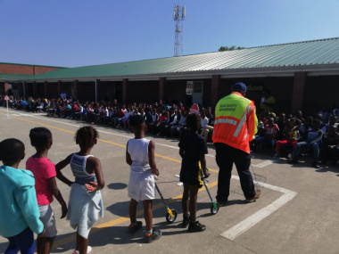 Launch of the JTTC at Thembalethu Primary School.