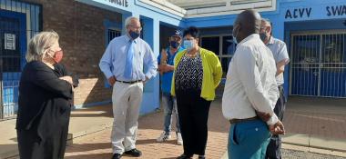 Oversight visit in Dysselsdorp