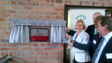 The Western Cape Health Foundation plaque unveiled.