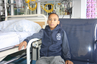 Dale Martiens (11) is one of the children who have benefited from this partnership and underwent cardiac surgery earlier this month.