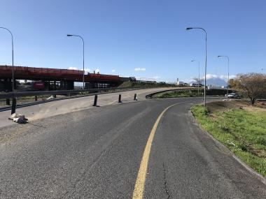 Roadworks on the N1.