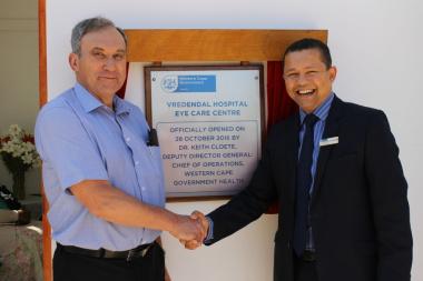 Vredendal Hospital Eye Care Centre launch