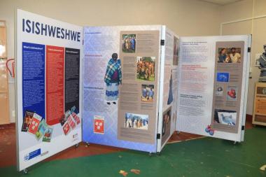 The colourful and interesting IsiShweshwe exhibition