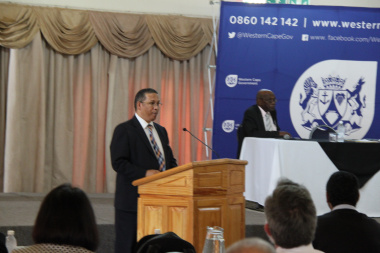 Western Cape Finance Minister, Dr Ivan Meyer