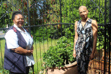 Toni Arendse and Sister Serena Murie