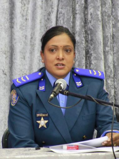Principle Provincial Inspector Vigie Chetty - Master of Ceremonies