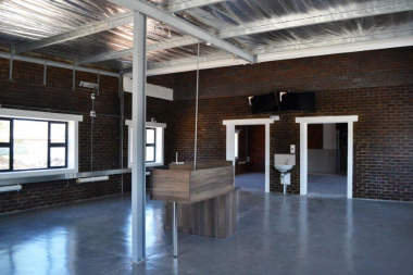 Inside the new COVID-19 ward at Vredendal Hospital.