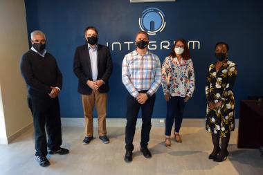 Minister David Maynier visits Integrum Global Solutions