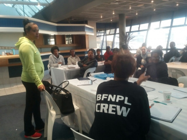 Interactive discussions at the workshop