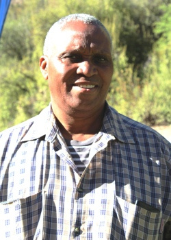 Isaac Monaheng, coordinator of Stellenbosch Initiation School