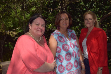 Jaline de Villiers, Charlene Houston and Anita van der Merwe were responsible for the logistics and research of the launch of the Khoekhoe geographical names brochure