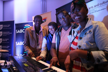 Jean-Marcel Alexander, Adrianne Olivier, Siphamandla Mbunye and Thandeka Mfinyongo are excited to be involved in the CTIJF.
