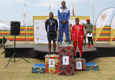 Junior Mpefu broke records and achieved gold in Drie Stokkies