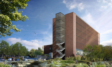 Artist's impression of the Karl Bremer Building.