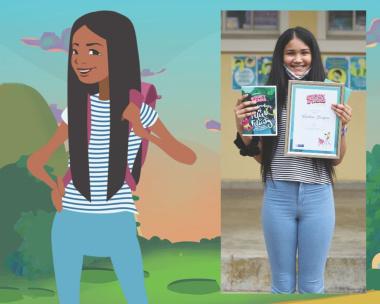 Keshrie as a Story Star!
