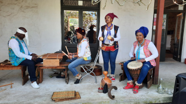 Launch event for the !Khwa ttu 'Food from the Ancestors' experience