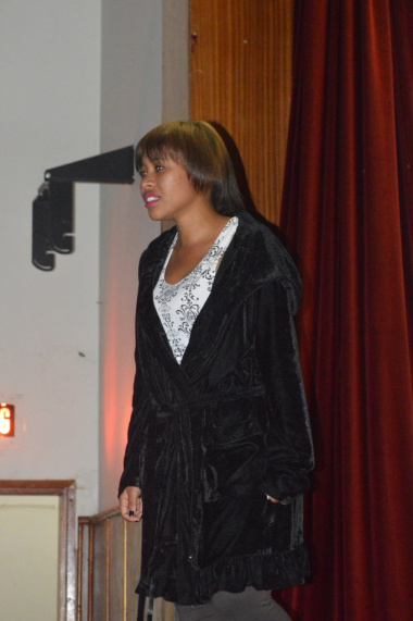 Knysna finalist Annelisha Pienaar from Explosive Theatre Production