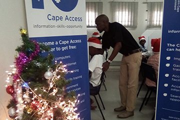 The Kwanokuthula e-Centre staff is always ready to assist.