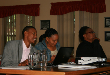 Language practitioners at the isiXhosa terminology verification workshop.