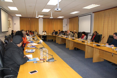 Language practitioners from the various WCG departments attended the launch