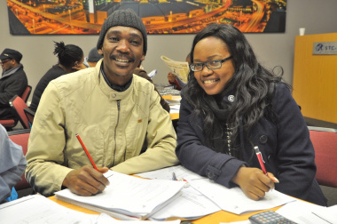 Lavinia Louw (from Gugulethu) and Ntsasa Adoro (Paarl).