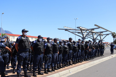 Law Enforcement Officers deployed to Hanover Park