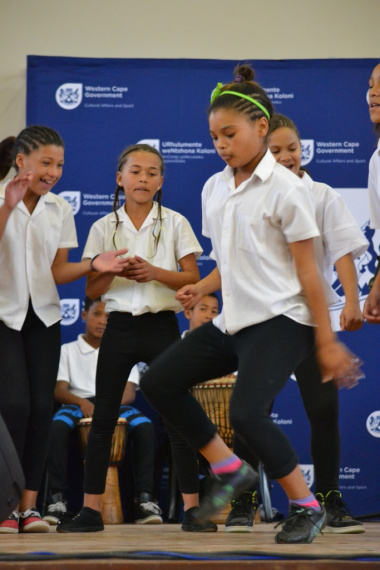 Learner showcased their dance talents on stage