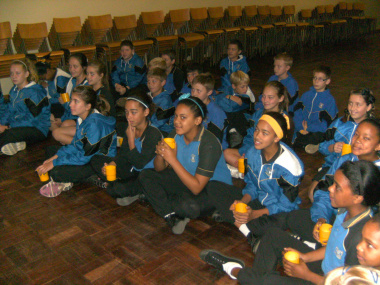 Learners make and taste traditional medicine at a DCAS Museum Educational Programme