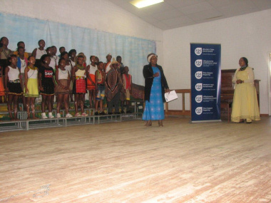 Learners performed various items at the event