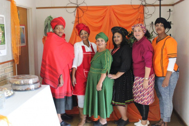 Library Staff of the Witzenville Public Library in Tulbagh
