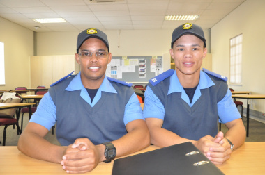 Luchane Smith and Anwill Swartz will be based at the Vredendal Provincial Traffic Centre.