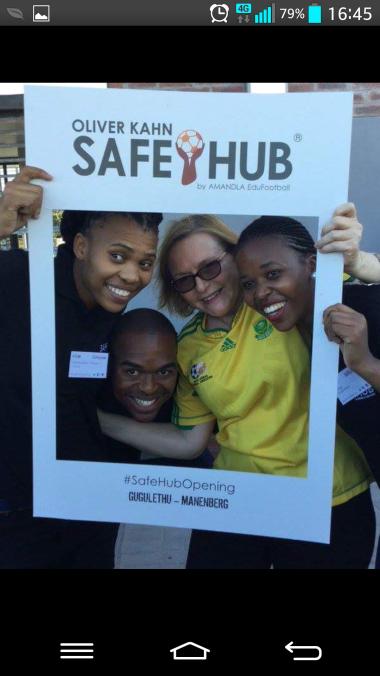 Manenberg Safe-Hub opening