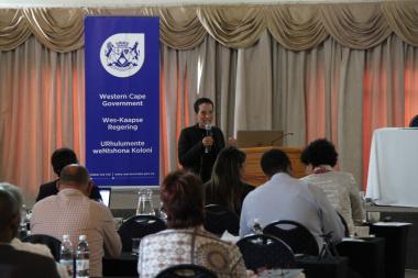 Marcia Korsten of the Western Cape Treasury