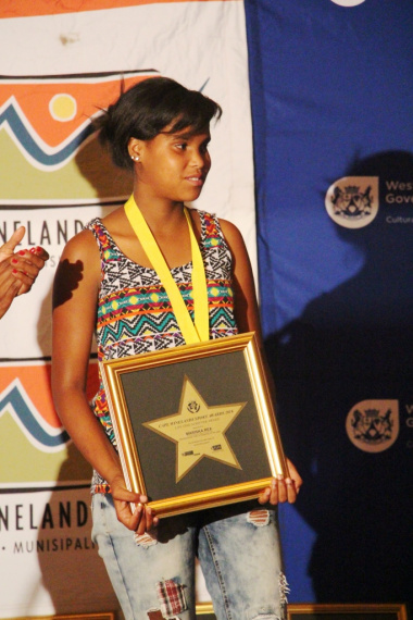 Marissa Rex - Sportswoman of the Year with a disability